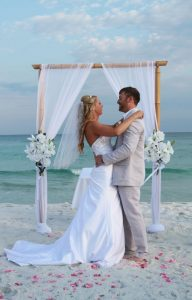 island beach wedding package